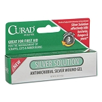 Silver Solution Antimicrobial Gel, .5oz Tube