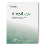 2016 Optum Anesthesia Cross Coder AVAILABLE: DECEMBER 2015