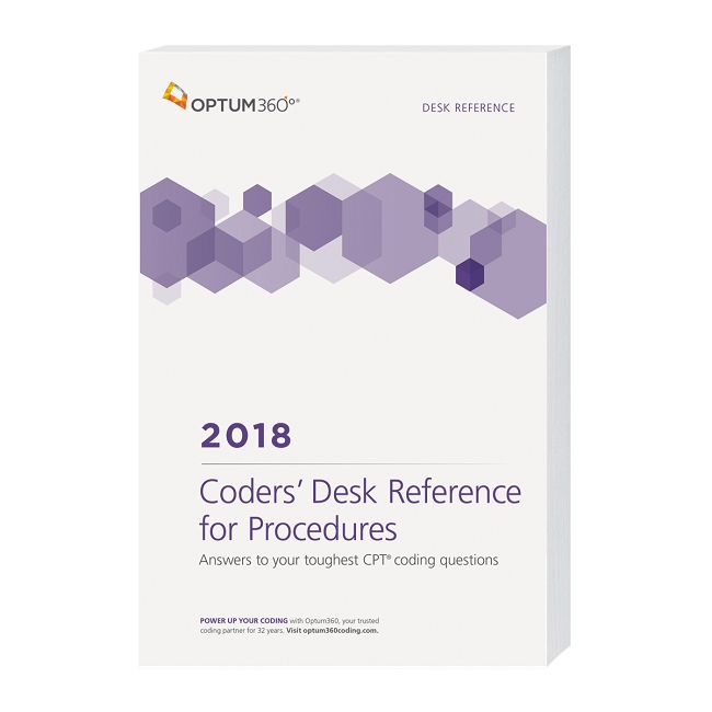 2018 optum coders desk reference for procedures available december addthis sharing sidebar fandeluxe Choice Image