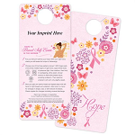 Hope/Steps To Breast Self-Exam In The Shower Card