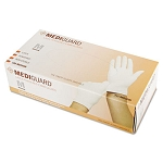 MediGuard Powdered Latex Exam Gloves, 100/Box