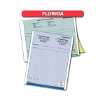 Florida State Authorized Rx Pads,2 Part, 50 sets per pad, 16 book min
