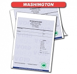 Washington State Authorized Rx Pads,2 Part, 50 sets per pad, 18 book min