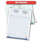 Wyoming State Authorized Rx Pads,1 Part, 100 per pad, 12 pad min