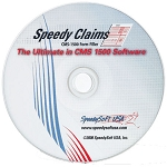 Speedy Claims CMS-1500 Software CD