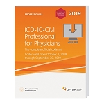2019 Optum ICD-10-CM for Physicians W/ GUIDELINES EBOOK (Emailed PDF)  AVAILABLE: OCTOBER 2018