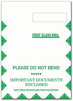 Jumbo CMS-1500 Envelope, Right Window, Self Seal- BLANK 500/bx