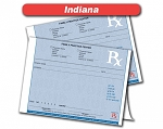 Indiana State Authorized Rx Pads,2 Part, 50 sets per pad, 18 book min
