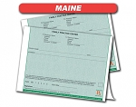 Maine State Authorized Rx Pads,2 Part, 50 per book, 18 pad min