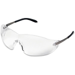 Crews BlackJack Metal Alloy Safety Glasses 1 each