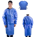 Disposable Isolation Gown with Elastic Cuff Level 3 - 100 piece minimum