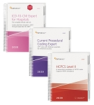 2020 Optum Coding Essentials Package. Includes: CPT Expert Spiral, ICD-10 Expert Spiral w/ GUIDELINES & HCPCS Expert Spiral