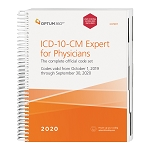 2020 Optum ICD-10 Expert Spiral for Physicians W/ GUIDELINES | AVAILABLE: OCTOBER 2019