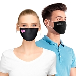 Reusable Cotton Filter Pocket Face Mask 100 qty minimum - Blue or Black