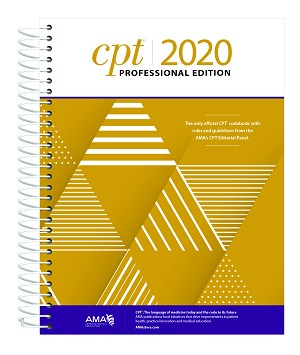 2020 AMA CPT Professional Spiral | AVAILABLE: SEPTEMBER 2019