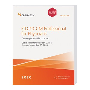 2020 Optum ICD-10 Professional Softbound for Hospitals W/ GUIDELINES | AVAILABLE: OCTOBER 2019