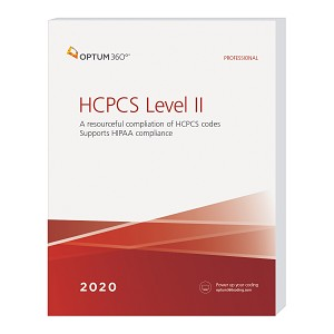 2020 Optum HCPCS Level II Professional Softbound | AVAILABLE: DECEMBER 2019
