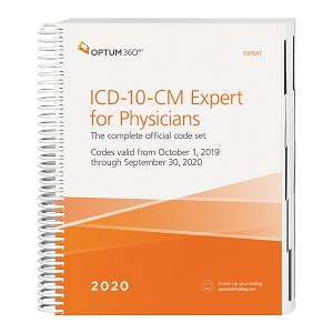 2020 Optum ICD-10 Expert Spiral for Physicians W/O GUIDELINES | AVAILABLE: SEPTEMBER 2019