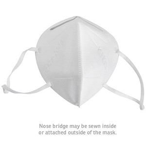 KN95 Respirator Mask  $1.99 each minimum order is 100 masks