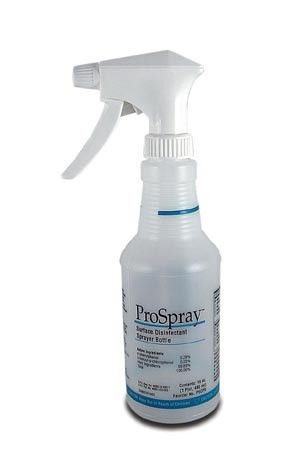 EMPTY CERTOL PROSPRAY° SURFACE CLEANER/DISINFECTANT SPRAYER BOTTLE